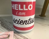 I am an Engineer Nametag Mug
