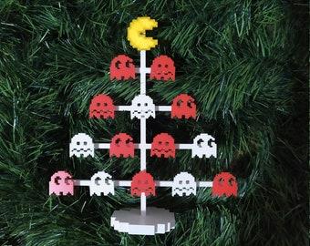 Pac-Man Desk Christmas Tree (3 pieces)