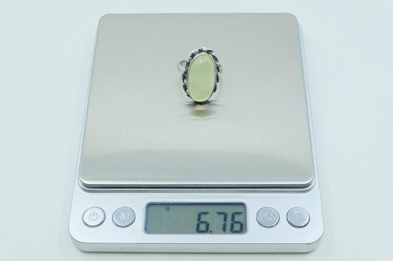 Sterling Silver Fluorite Ring