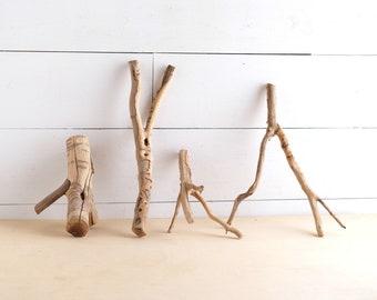 Manzanita Nano Branches (Set of 4), Weathered Small Aquarium Wood, Nanoscape Driftwood, Wabi Kusa Wood