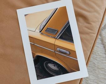 A4 Cornflower Lada in Berlin Print