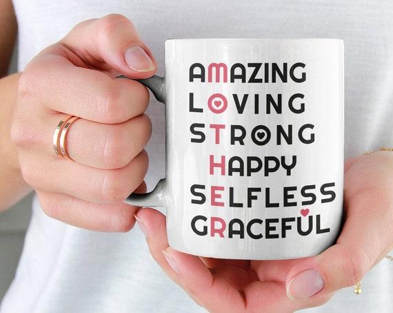 Amazing Mother Mug, Mothers Day Mug, Gift For Mothers Day, Mom Birthday Gift, Mothers Day Gift, Gift For Mom, Ceramic Mug, Coffee Mug