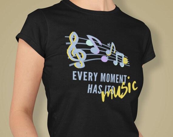 Music Shirt, Musician T-shirt, Music T-shirt, Music Lover Gift, Music Teacher Shirt, Adult Shirt, Cotton T-shirt, Music Gift, Unisex T-shirt