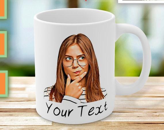 Custom Photo Mug, Personalized Mug, Custom Coffee Mug, Custom Picture Mug, Custom Mug, Custom Photo Gift, Customizable Mug, Face Mug