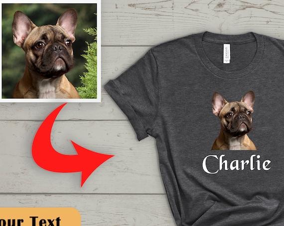 Custom Dog Shirt, Custom Pet Shirt, Dog Lover Gift, Dog Lover T-Shirt, Personalized T shirts, Dog Owner Shirt, Dog Photo Shirt, Unisex Shirt