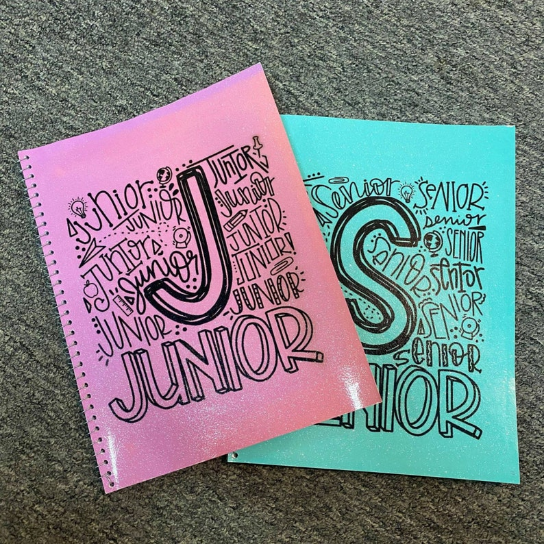Grade Specific  Back to School Notebook for Kids and Teens image 0