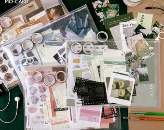 Journaling Set of 64 items,journaling kit,planner supplies,journals gift set,bullet journaling kit,scrapbooking kit-CH-TP-113