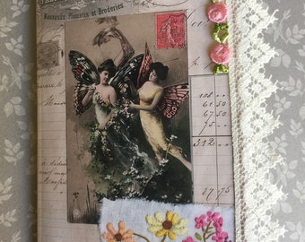 Handmade Junk Journal with Soft Cover