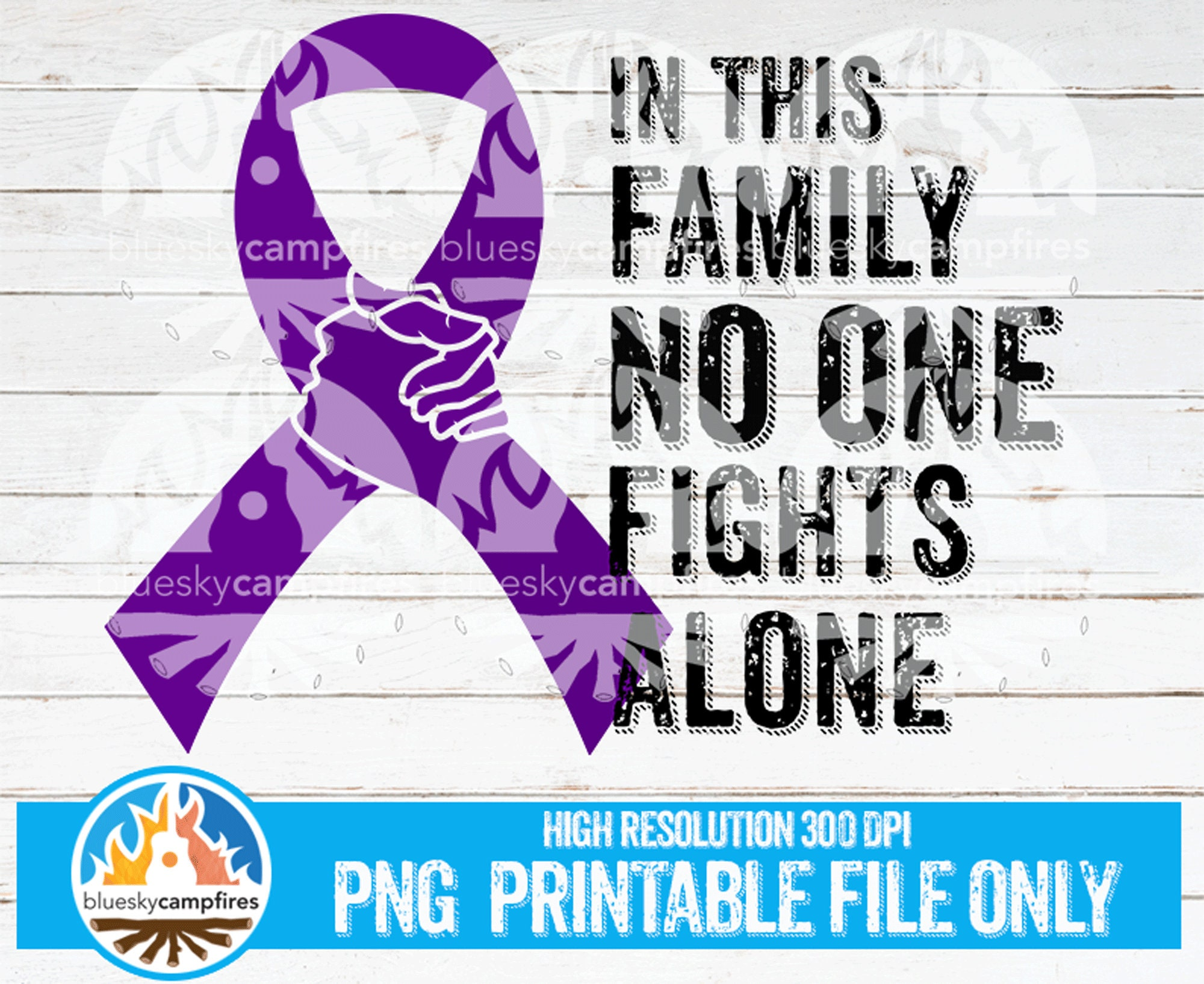 Details about  /In This Family No One Fights Alone Suicide Prevention Custom Shape Ornament