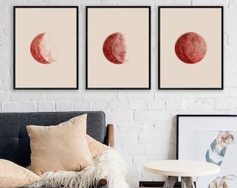 Wall Art Moon Phases