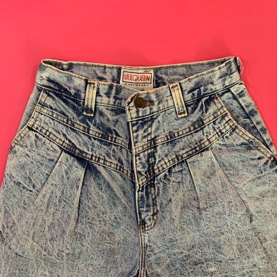 Vintage 80s Acid Wash Jeans by Mulqueen