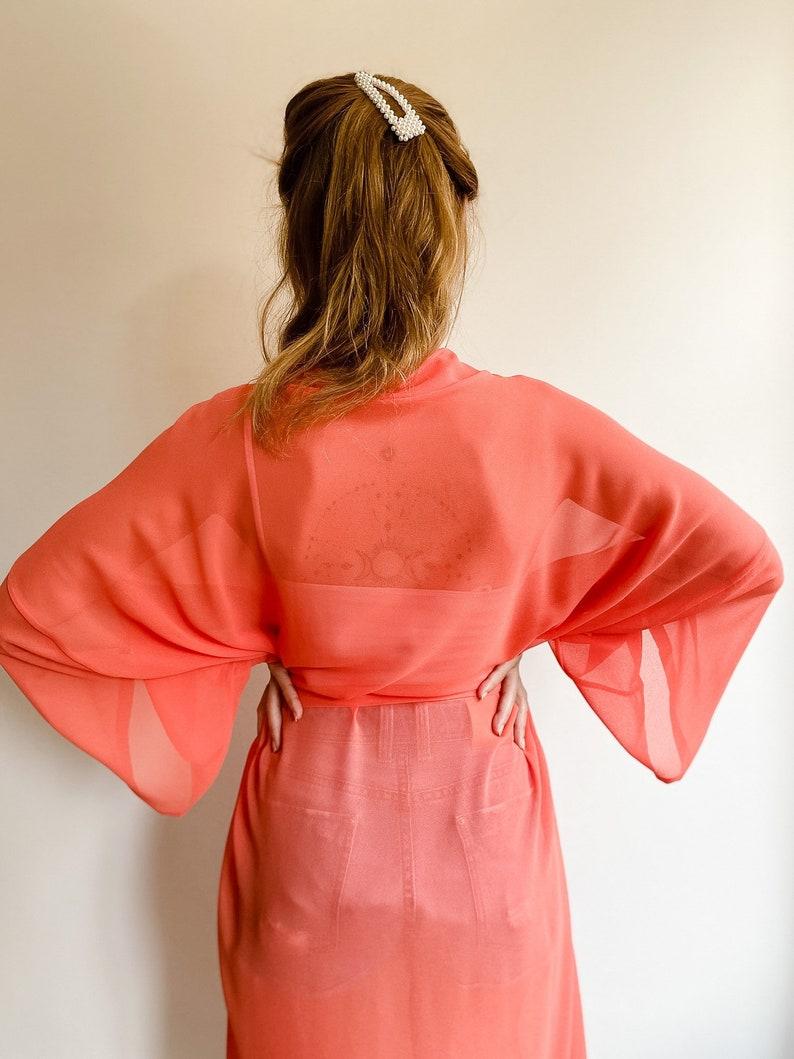 Sugar Kimono Bohemian Maternity Bridal Robe Beach Cover Up Dressing Gown Robe Kaftan Swimwear Tunic Nursing Moms Baby Shower\u00a0