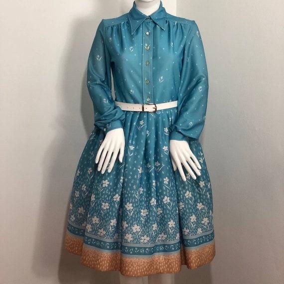 Jonathan Logan Floral Shirt Dress