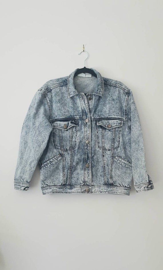 90's Acid Wash Jean Jacket
