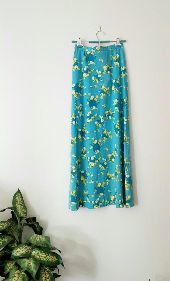 70's Malia Maxi-Skirt