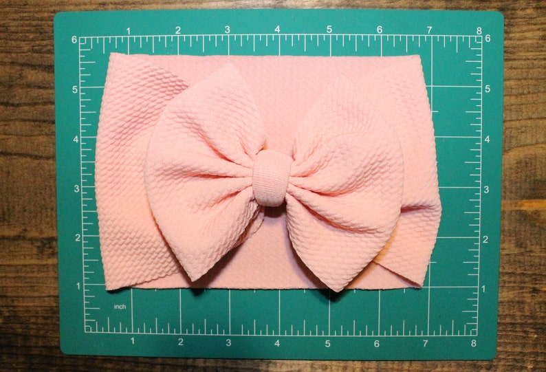 Light Pink Bows and Headwraps