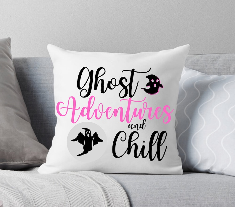 Ghost Adventures Throw Pillow Paranormal Supernatural Ghost image 0