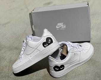 Condición previa suave Contagioso  Cdg custom shoes | Etsy