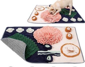 Extra Large Dog Snuffle Mat Puzzle Dog Toys Flower Feeding Mat For Dog gift