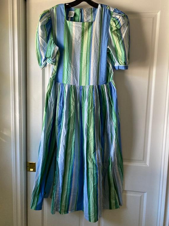 Laura Ashley Vintage Stripe dress - Size 12 (US) /