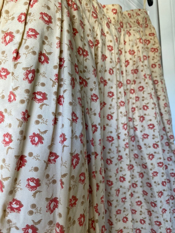 Vintage Ralph Lauren Country Floral Skirt