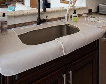 kitchen sink mat etsy