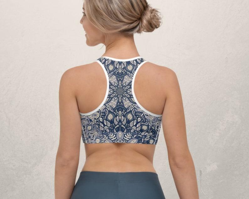 Mandala Sports Bra  Fitness Wear