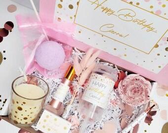 Birthday Box   Birthday Care Package   Personalized Bday Gift   Birthday Confetti Box   Girl's Birthday   Birthday Babe Box