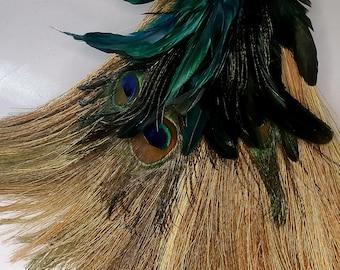Peacock Broom