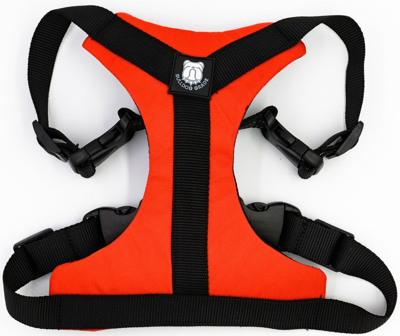 No Pull medium dogs Harnesses for Frenchies Reflective Vest Harness for Your French Bully small Custom Fit French Bulldog Harness