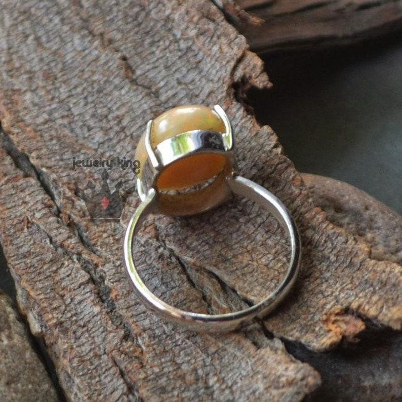 opal ring,opal gemstone ring,gemstone ring,sterling silver ring,midi ring,couple ring,mens ring,rings for women,promise ring