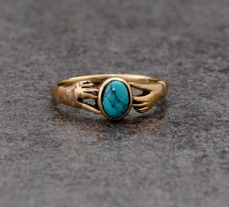 Turquoise Ring,Handmade Ring,Unique Ring,Boho Ring,Anniversary Ring,Wedding Ring,Vintage Ring,Gift Ring,Deco Ring,Gift For Her