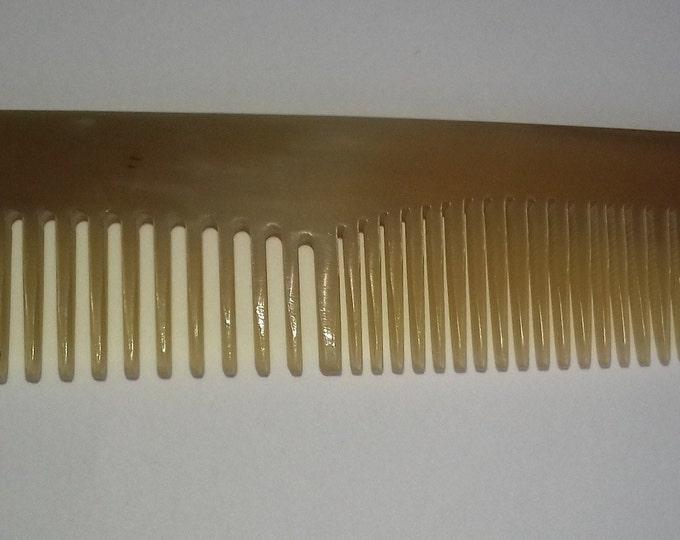 Horn comb 16cm