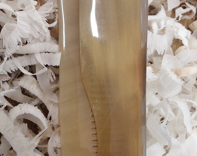 foldable horn comb