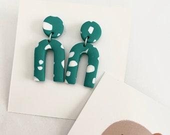 Handmade Polymer Clay Earrings - Statement Earrings