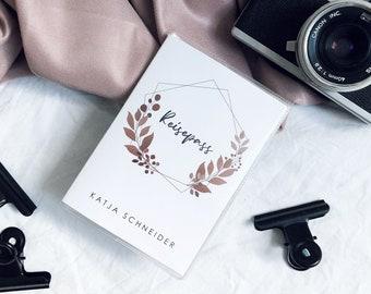 REISEPASS HÜLLE HEXAGON (new passport)