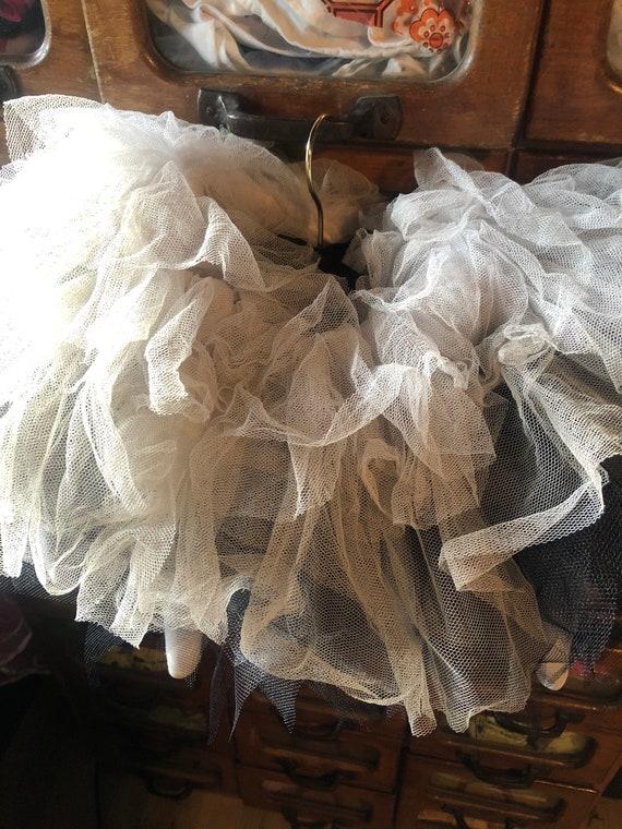 Vintage bespoke Pierrot costume shrug - image 4