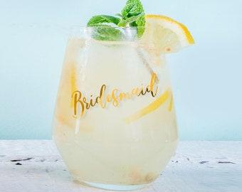 Personalised Summer Gin Tumbler