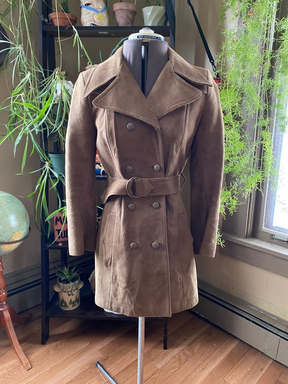70s Marquis of London Suede Jacket