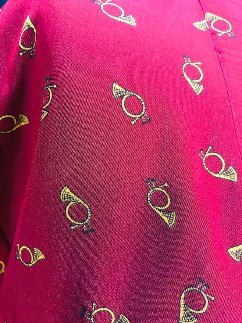 Vintage 80\u2019s Liz Claiborne Long Sleeve Shift Dress L