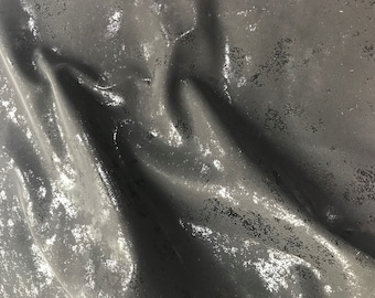 """New Black Shiny Embossed Design Vinyl/PU with brush Width 55"""" Clothing & Apparel, Shoes, Bags, Furnishings, Décor sold by the Yard"""