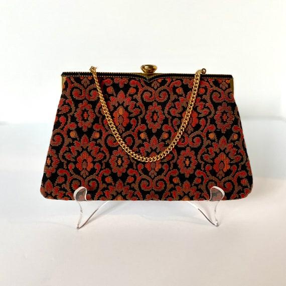 Vintage Coblentz Tapestry Evening Bag
