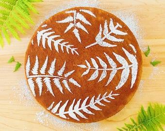 Fern Cake Stencil, Botanical Cake Stencil, Botanical Stencil, Gift for Gardener, Cake Stencil, Gift for Baker, Mother's Day Gift, Spring