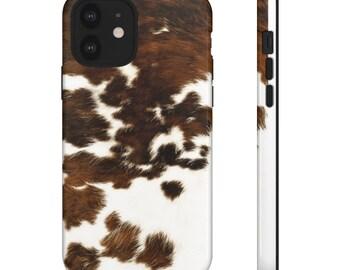 Cow Hide \ Tough Cases \ Phone case