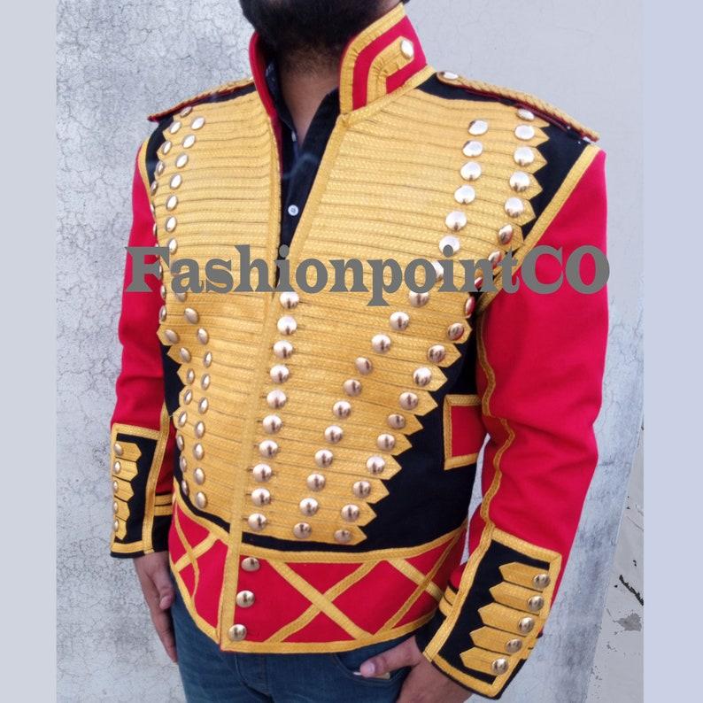 Mens Michael Jackson Leave Me Alone Military Wool Jacket,Mens Fashion Military Style Jacket