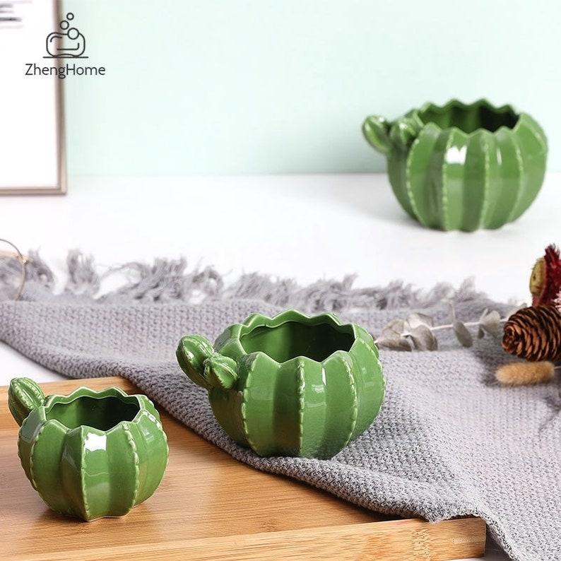 Creative Sculpture Crafts Succulents Plant Pot  Balcony Flower Pot  Cactus Ceramic Planter