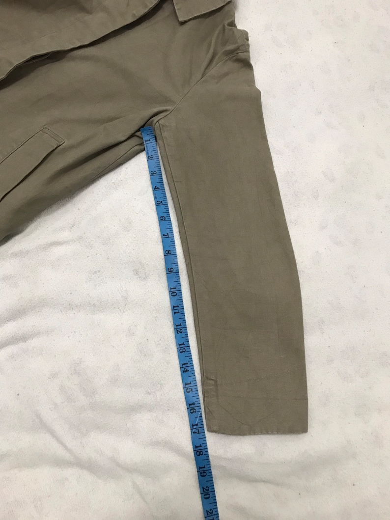 Vintage Wool Rich Work Wear Military Style Classic Tactical Jacket Winter Wear Inspired Designer Streetwear Polka Dot T042 Fits M