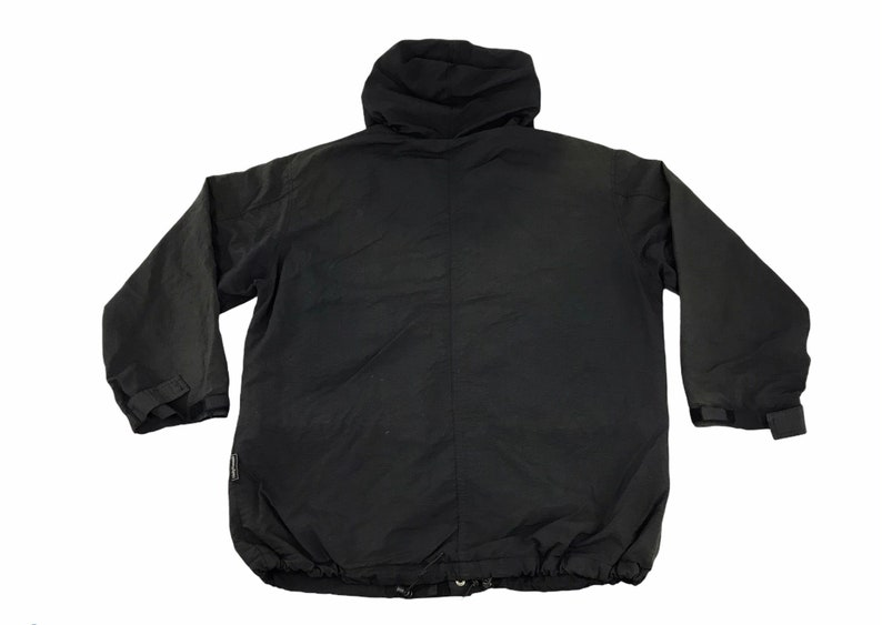 Vintage Helly Hanson Jacket Hoodie Winter Wear Inspired Designer Brand Double Pocket Button Zipper Design Streetwear Unisex Wear L406
