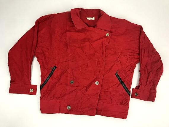 Vintage Vievie Club Jacket Classic Wear Double Bre
