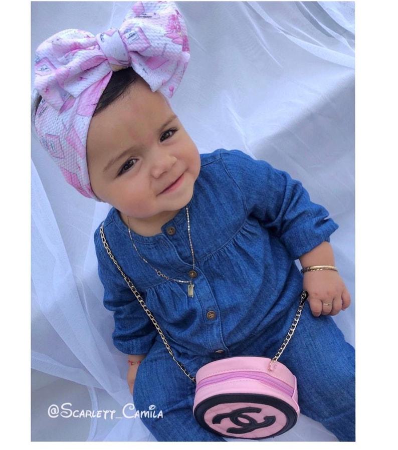 Baby Girl Headband Double Big Bow Headwrap